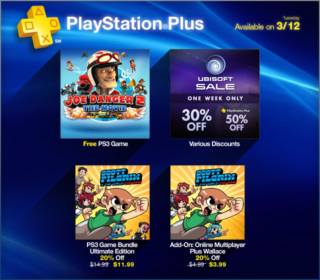 PlayStation Store Update 3-12-13