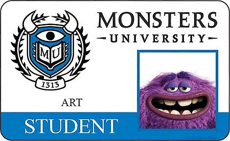 Monster University - Art ID