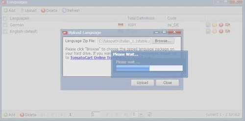 Fail to Upload Language Pack to Online Translator0