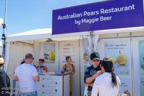 Australian Pears Restaurant by Maggie Beer