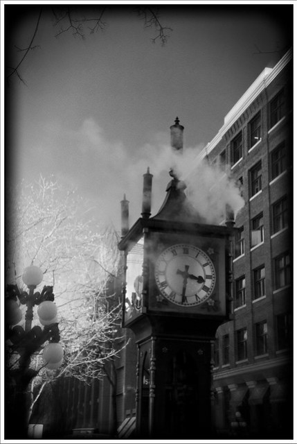 Gastown's Famous Electric Steam Clock
