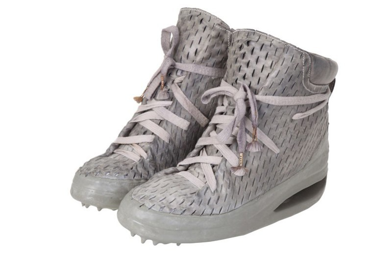 Carol Christian Poell - Sneakers One Piece Laceable Dripped U Sole Sneakers in grey 3