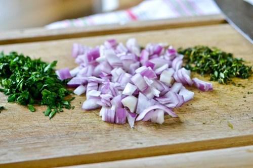Roasted Garlic, Chicken & Herb Flatbread Pizza-4