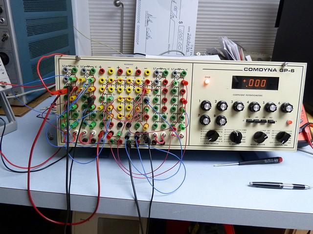 Comdyna GP-6 Analog computer
