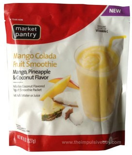 Market Pantry Mango Colada Fruit Smoothie