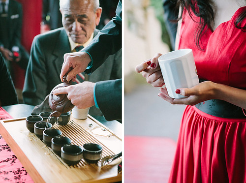 tea ceremony: washing the cups