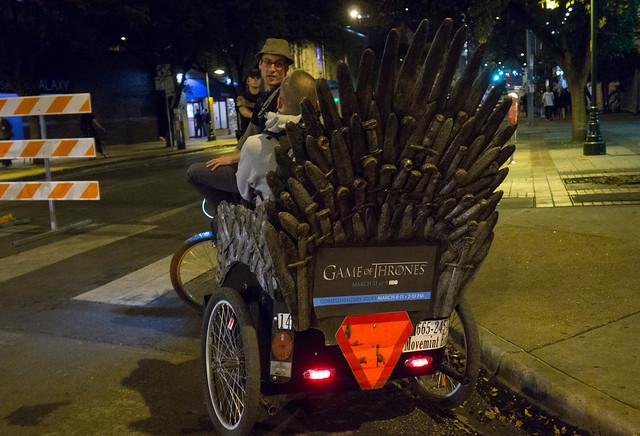 Game of Thrones Pedicab