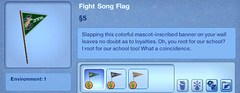 Fight Song Flag