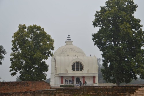 Mahaparinivana temple and Stupa