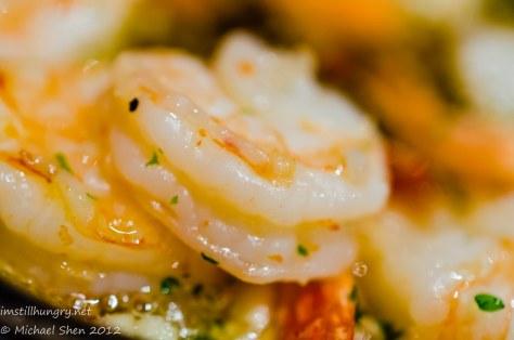 Encasa garlic king prawns