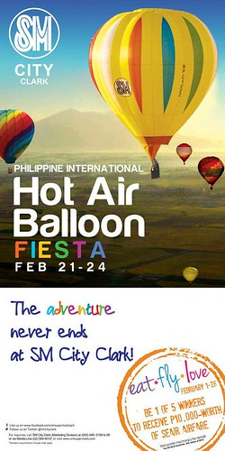 SM City Clark and Hot Air Balloon Activities