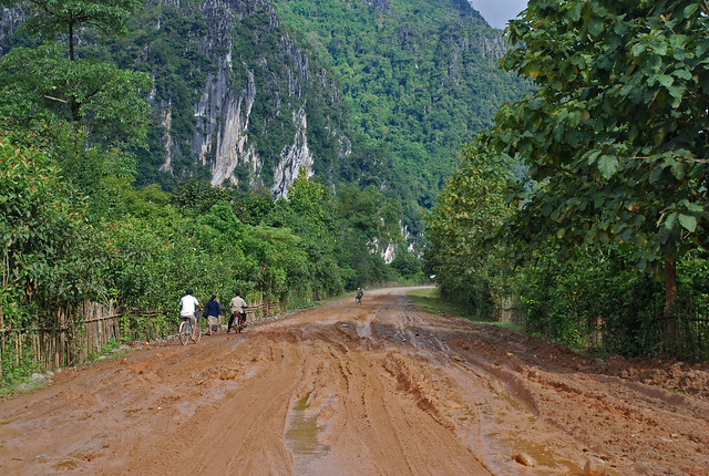 Mountains & Roads in Laos