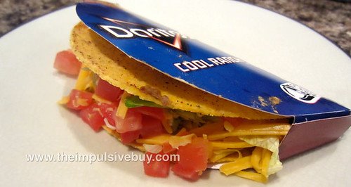 Taco Bell Cool Ranch Doritos Locos Tacos Supreme Closeup