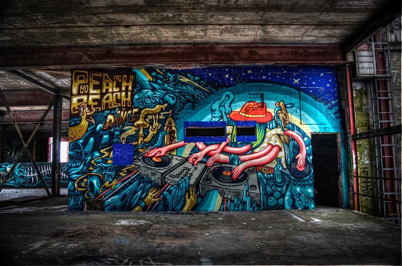 Teufelsberg Berlin Graffiti-34