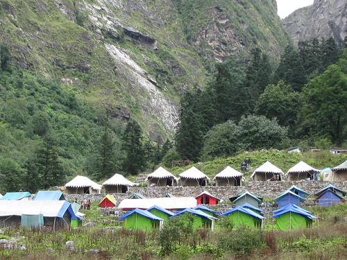Camps at Ghangharia