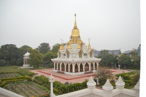 Thai Buddhist Temple at Kushinagar