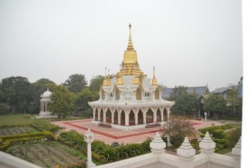 Thai Buddhist Temple at Kushinagar