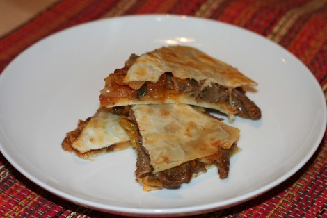 seitan-kimchi-quesadillas