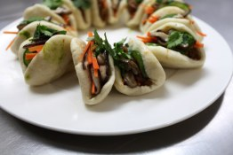 Pulled Jackfruit Steamed Buns from the soon to open The Arbor