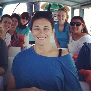 Kelly Campbell and the lovely young ladies from Winthrop U I traveled with in Guatemala.