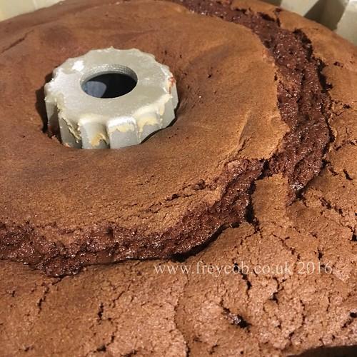 Chocolate & Halva Bundt Cake