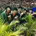 """UH Manoa School of Communications graduates at the campus' commencement ceremony at the Stan Sheriff Center. May 11, 2013  Go to the school's Facebook page to see more photos - <a href=""""https://www.facebook.com/UHMCOM"""" rel=""""nofollow"""">www.facebook.com/UHMCOM</a>"""