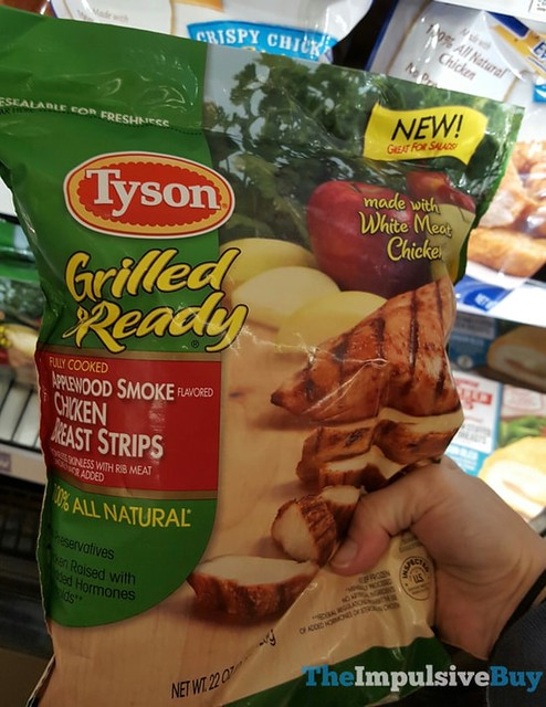 Tyson Grilled & Ready Applewood Smoke Chicken Breast Strips