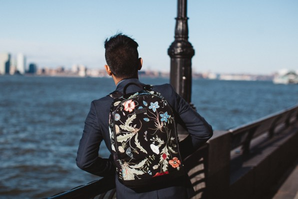 Gucci backpack from men's cruise 2015 collection