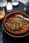 Slow Roasted Eggplant, Tomato, Haloumi, Quinoa and Spiced Nuts