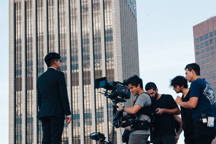 Bryanboy in Los Angeles for the Hugo Boss BOSS Eyewear Master the Light campaign