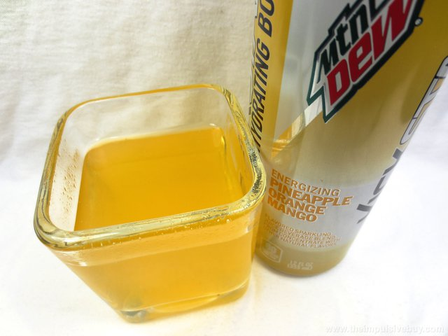 Mountain Dew Kickstart Hydrating Boost Orange Pineapple Mango