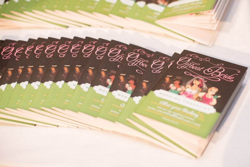 Offbeat Bride brochures