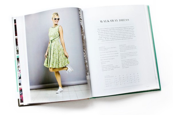 The Great British Sewing bee Walkaway Dress Fashion With fabric Book