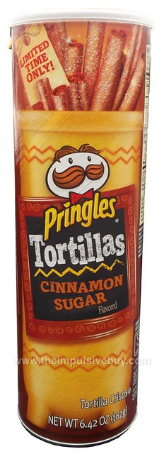 Limited Time Only Cinnamon Sugar Pringles Tortillas
