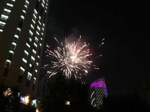 Fireworks Outside