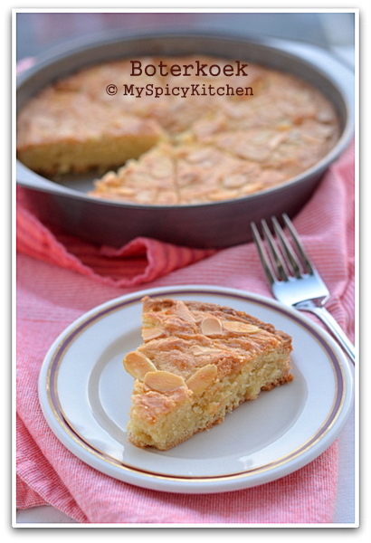 Dutch Butter Cake, BoterKoek, Bake-a-thon