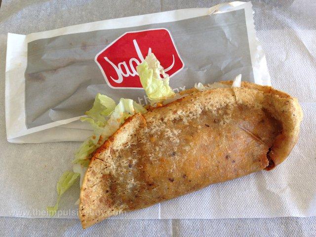 Jack in the Box Enchilada Monster Taco
