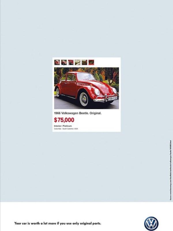 Volkswagen Original Parts - Beetle