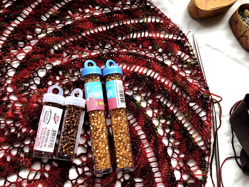Fire Thief beads