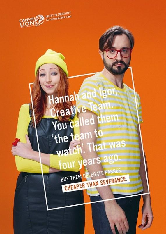 Cannes Lions - Hannah & Igor