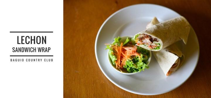 Baguio Country Club Lechon Wrap