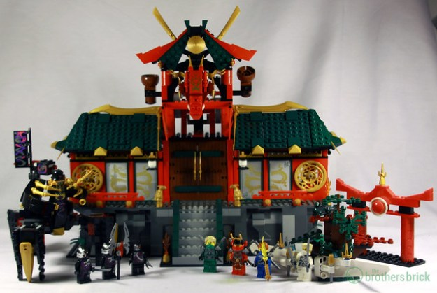 Review: 70728 Battle for Ninjago City