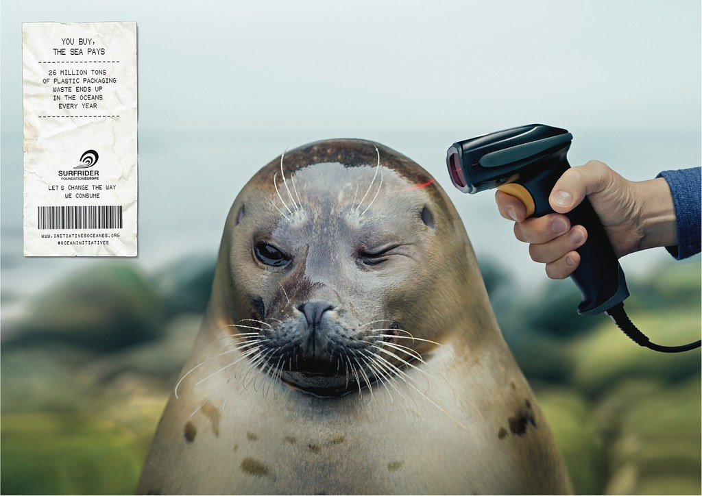 Surfrider Foundation - Barcode Scanner Seal