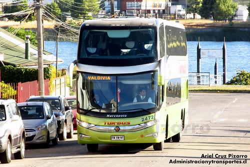 Tur Bus - Valdivia - Marcopolo Paradiso 1800 DD / Mercedes Benz (FWVW97)