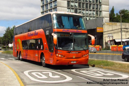 Pullman Bus - Puerto Montt - Busscar Panorâmico DD / Scania (BGWP22)