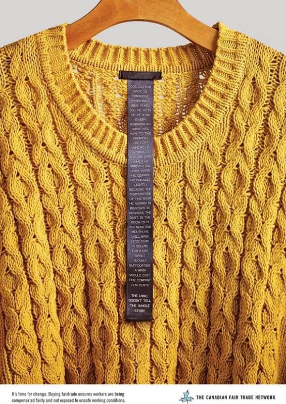 Canadian Fair Trade Network - Sweater