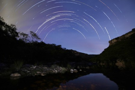 Star Trails, Poço da Madalena - Igatu