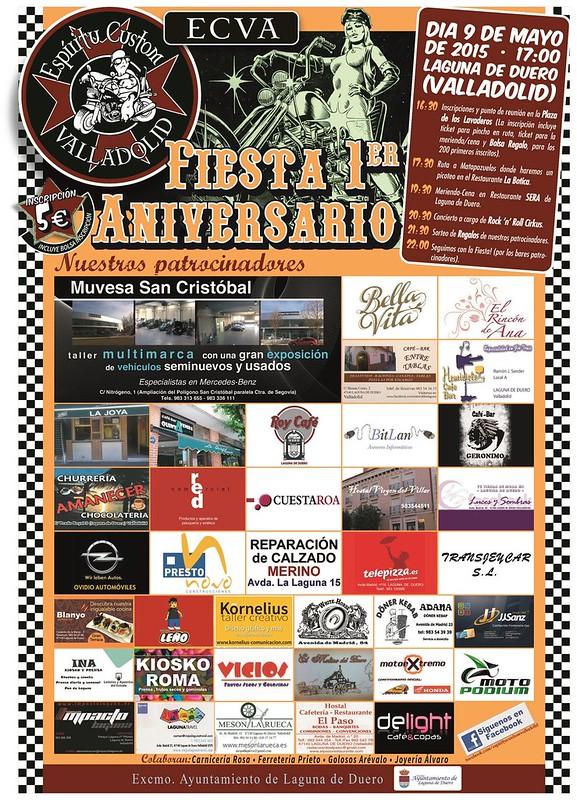 Fiesta 1er Aniv. Espiritu Custom Valladolid