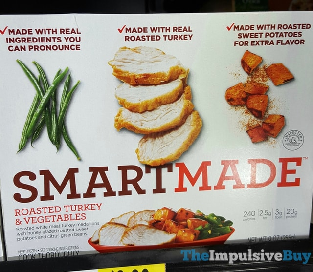Smart Made Roasted Turkey & Vegetables