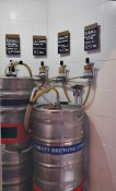 custom beer fridge